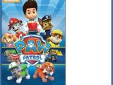 Paw Patrol Party Invitation Template Paw Patrol Invitations Sure Success Free Invitation
