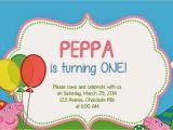 Peppa Pig Birthday Invitations Free Downloads I Make I Peppa Pig Invitation