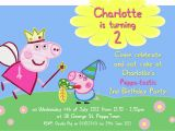 Peppa Pig Birthday Party Invitation Template Free Birthday Invitation Word Template Peppa Pig