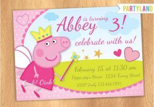 Peppa Pig Birthday Party Invitation Template Free Peppa Pig Birthday Invitations – Gangcraft