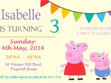 Peppa Pig Birthday Party Invitation Template Free Peppa Pig Birthday Invitations Online Free – Amazing