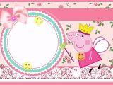 Peppa Pig Birthday Party Invitation Template Free Peppa Pig Invitations Make People Smile