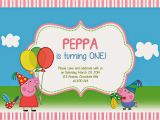 Peppa Pig Birthday Party Invitation Template Free Peppa Pig Invites Template
