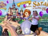 Personalised 1st Birthday Invitations Ebay sofia the First Birthday Party Invitations Custom