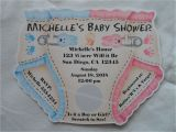 Personalized Photo Baby Shower Invitations Unique Personalized Baby Shower Diaper Invitations Twins