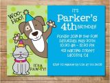 Pet Birthday Party Invitations Pet Party Humane society Invitation Animal Party Cat and