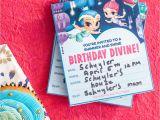 Peter Rabbit Nick Jr Birthday Invitations Nick Jr Birthday Invitations Plan A Shimmer and Shine