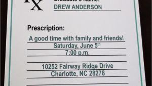 Pharmacy Graduation Party Invitations Pharmacy Graduation Party Invitation