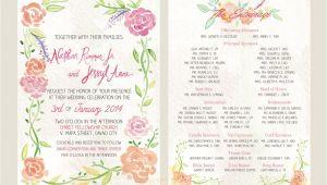 Philippine Wedding Invitation A Watercolor Invitation for A Davao Wedding Stars for Dreams