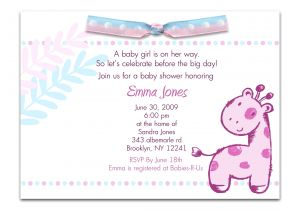 Phrases for Baby Shower Invitations Baby Shower Invitation Quotes