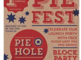 Pie Party Invitations Our Work Bottlegreen