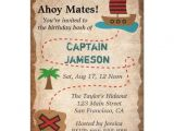 Pirate themed Birthday Party Invitations Treasure Map Pirate theme Birthday Party 4 5×6 25 Paper