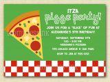 Pizza Making Birthday Party Invitation Template Pizza Party Invitations Party Invitations Templates