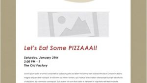 Pizza Party Invitation Email 25 Email Invitation Templates Psd Vector Eps Ai