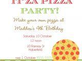 Pizza Party Invitation Email Free Pizza Party Invitation Templates Cloudinvitation Com