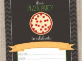 Pizza Party Invitation Email Instant Download Pizza Party Invitation Pizza Party