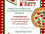 Pizza Party Invitation Email Pizza Party Invitations Party Invites Pinterest