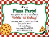 Pizza Party Invitation Template Items Similar to Pizza Party Birthday Invitations Girl