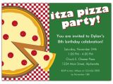 Pizza Party Invitation Template Itza Pizza Party Invitations Paperstyle