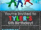 Pj Mask Birthday Invitation Template Pj Masks Invitations Birthday Party Shipped or