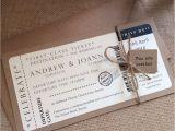 Plane Ticket Wedding Invitation Template Free Flight Ticket Wedding Invitation Template Mini Bridal