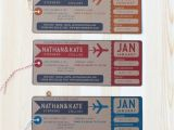 Plane Ticket Wedding Invitation Template Free Plane Ticket Wedding Invitations Sunshinebizsolutions Com