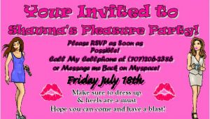Pleasure Party Invitations Invitations Pleasure Party by Anonymous July 06 2008