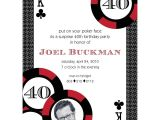 Poker Party Invitation Template Free Casino Poker Vegas Birthday Party Printable Invitation Red