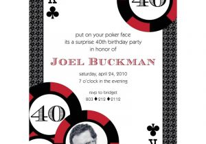 Poker Party Invitation Template Free Casino Poker Vegas Birthday Party Printable Invitation Red