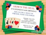 Poker Party Invitation Template Free Poker Party Invitation