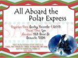 Polar Express Party Invitation Template Free Items Similar to Polar Express Party Digital Invite On Etsy