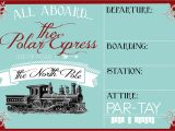 Polar Express Party Invitation Template Free Polar Express Party Invitation Party Like A Cherry