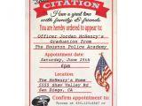 Police Academy Graduation Invitation Wording Police Academy Graduation Invitations Template Best
