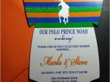 Polo Baby Shower Invitations Polo Prince Baby Shower Invitation Polo Prince Esie Baby