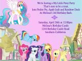 Pony Party Invitation Wording Awesome My Little Pony Invitation Template Beepmunk