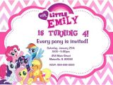 Pony Party Invitation Wording My Little Pony Birthday Party Invitation Digital