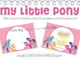 Pony Party Invites Free Printable Printable Pony Party Invitation