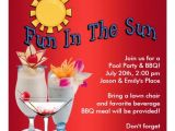 Pool Party Invitation Ideas for Adults Adult Pool Party Bbq Announcements