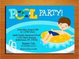Pool Party Invitation Ideas Homemade Extraordinary Pool Party Invitation Ideas Homemade 1