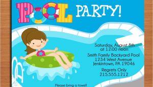 Pool Party Invitations Free Printable Free Printable Birthday Pool Party Invitations Drevio