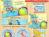 Pool Party Invitations Free Printable Printable Pool Party Invitations Template Best Template