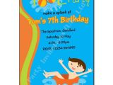 Pool Party Invite Wording Pool Party Birthday Invitation