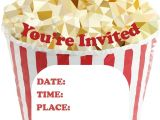 Popcorn Birthday Party Invitations 33 Best Party Ideas for Kids Party Games Birthday Cards