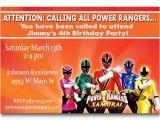 Power Ranger Birthday Invitations Power Rangers Birthday Invitations Ideas – Bagvania Free