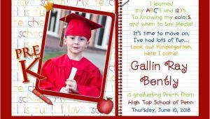 Pre K Graduation Invitations Photo Kindergarten Graduation Invitation Pre K Elementary