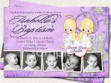 Precious Moments Printable Baptism Invitations Baptism Invitation Thank You Birth Announcement Angels
