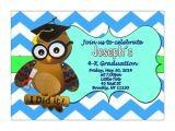 Preschool Graduation Invitations Free Printable Preschool Graduation Invitation Pre K Kindergarten Chevron