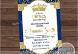 Prince Baby Shower Invites Little Prince Baby Shower Invitation Prince Baby Shower