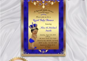 Prince Baby Shower Invites Prince Baby Shower Invitation Little Prince Royal Baby Boy