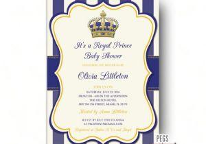 Prince Baby Shower Invites Royal Prince Baby Shower Invitations Little Prince Baby